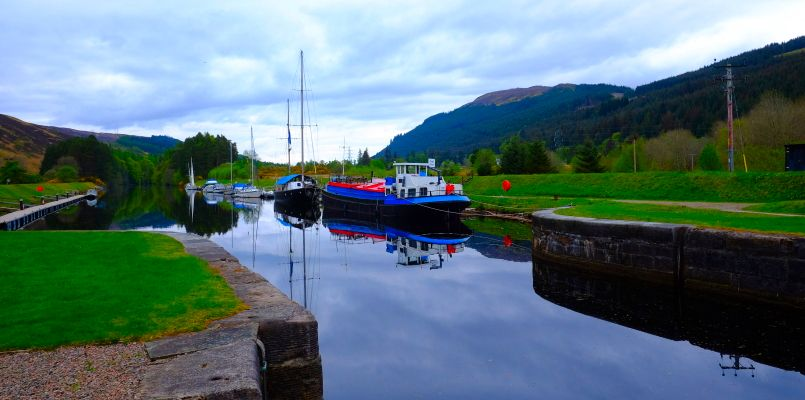 Canal Towpaths on the Great Glen Way