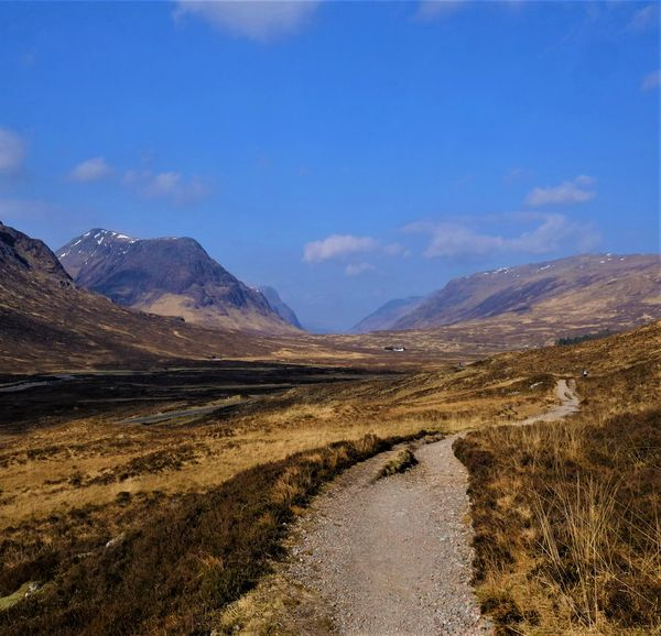 Views down Glencoe