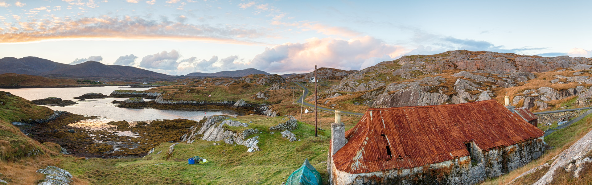 The remoteness of the Outer Hebrides