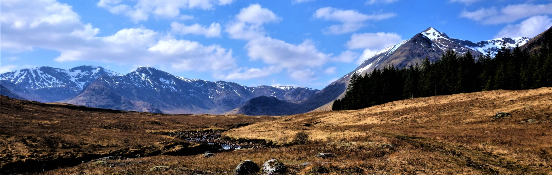 The Black Mount Hills on the way to Glen Coe