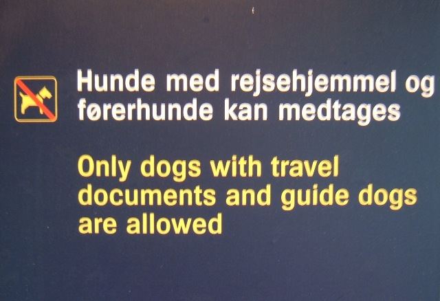 Pet passport reminders